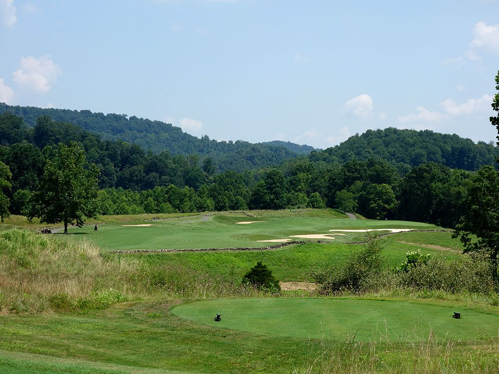 14th Hole at Pete Dye Golf Club (489 Yard Par 4)